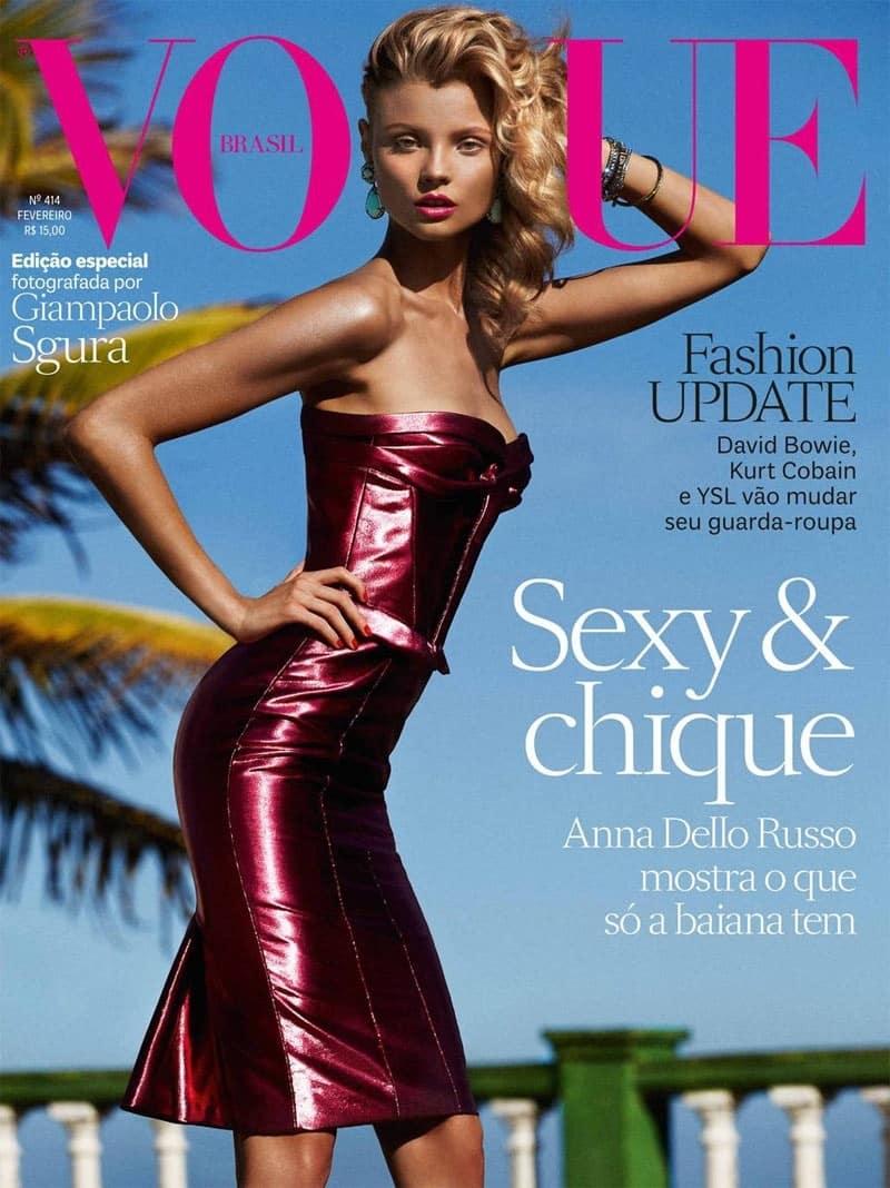Vogue Brazil February 2013 -